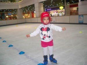 Düş Bahçesi Anaokulu Buz Pateni Etkinliği 1