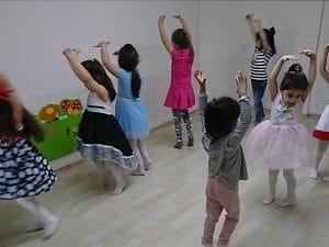 Düş Bahçesi Anaokulu Bale Eğitimi 1