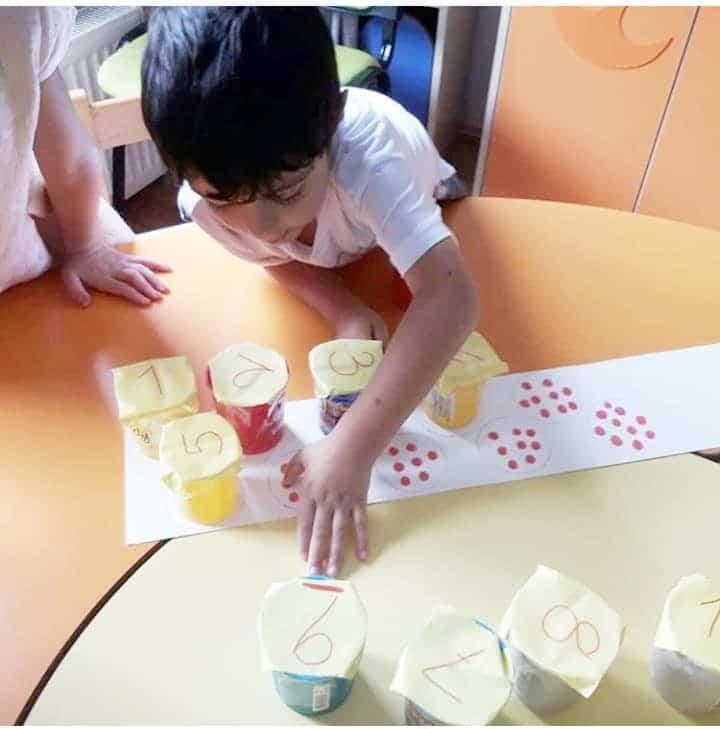 Anaokulu Matematik Etkinliği